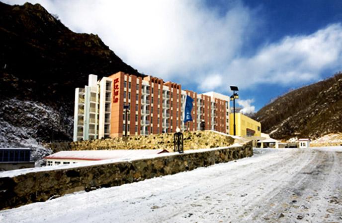 北京万龙滑雪场双龙酒店